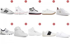 Above: 10 classic white sneakers every guy needs in their closet