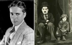 Above: Film legend Charlie Chaplin