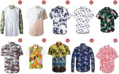 Above: 10 of our favourite tropical shirts this summer