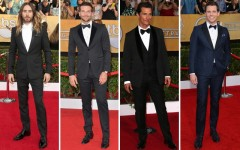 2014 SAG Awards: Men On The Red Carpet
