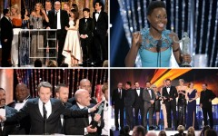 Above: Memorable moments from the 2014 SAG Awards