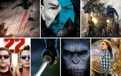 Above: 7  of the most anticipated summer blockbusters of 2014