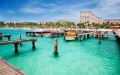 Above: Dock on Palm Beach, Aruba (Photo: Shutterstock/Jo Ann Snover)
