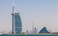 Above: Dubai's skyline from the water (Photo: Peter Fuchs/Shutterstock)