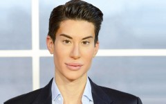 Above: Justin Jedlica doesn't shy away from his penchant for plastic surgery