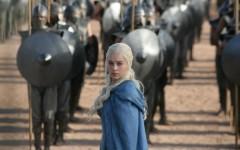 Khaleesi in season 3 of Game of Thrones (Photo courtesy of: HBO Canada)