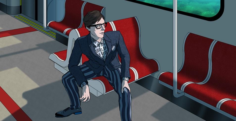 Spring/Summer 2014 Menswear Trend: Block StripesThe Look: Viktor & Rolf