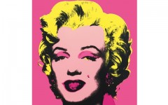 Above: An exhibition of Andy Warhol's most recognizable pieces (including his silkscreen tribute to Marilyn Monroe) is coming to Toronto this summer
