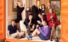Above: 'Arrested Development' will return to Netflix for a fifth season