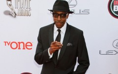 Above: Arsenio Hall on the red carpet at the NAACP Image Awards