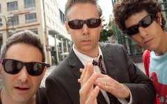 The Beastie Boys, from left, Ad-Rock, MCA and Mike D. MCA died last year.