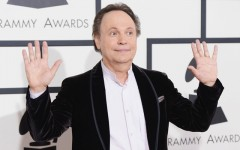 "Above: Billy Crystal says that gay scenes on TV are sometimes ""too much for me"""