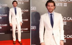 Bradley Cooper at the premiere of The Hangover Part III in Rio de Janeiro