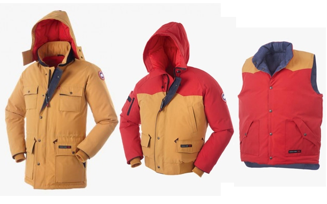 Canada Goose jackets sale shop - Canada Goose X Levi's Limited Edition Fall 2013 Collection - AmongMen