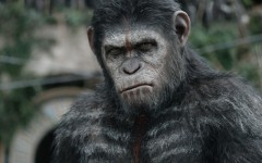 Above: CGI is perfected in 'Dawn Of The Planet Of The Apes'