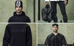 Above: Menswear selections from the Alexander Wang x H&M fall/winter 2014 collection