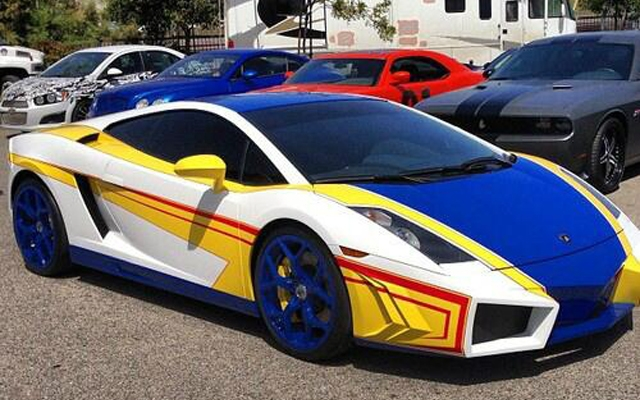 Chris Brown Cars: Chris Brown Had His Lamborghini Customized To Look Like A