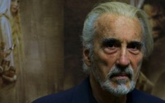 Above: Sir Christopher Lee (1922 - 2015)