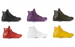 Above: New rubberized Chuck Taylor All Star sneakers for fall