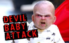 Devil baby terrorizes New York City for viral marketing campaign for 'Devil's Due'