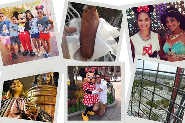 Above: Grab your smart phone, snap pictures and rack up the points in this Disneyland Scavenger Hunt