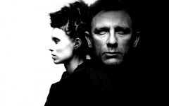 Rooney Mara and Daniel Craig as Lisbeth Salander and Mikael Blomqvist