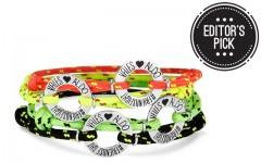 Above: The Aldo X Vfiles friendship bracelets