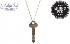 Above: The Movember x The Giving Keys Classic Pendant