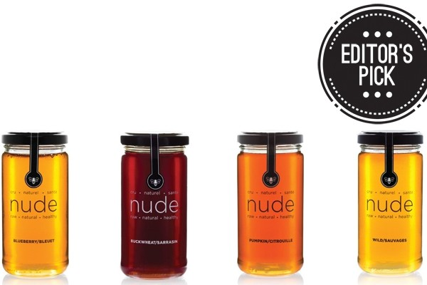 Above: Nude Bee Honey is sourced directly from local beekeepers