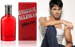 Above: 'Enrique Iglesias Adrenaline' is a woody aromatic scent