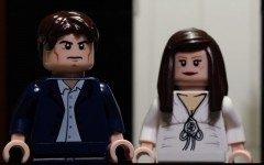 Above: The hilarious Lego homage to the 'Fifty Shades Of Grey' trailer