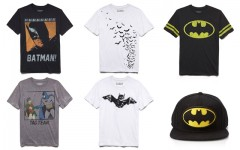 Above: Men's looks from Forever 21's limited-edition Bats & Cats collection