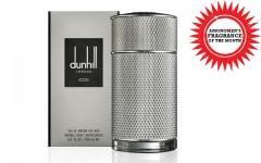 Above: Dunhill's ICON EDP fragrance