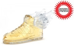 Above: Adidas Originals unisex eau de toilette by Jeremy Scott