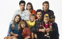 Above: 'Full House' will be rebooted as the Netflix show 'Fuller House' in 2016