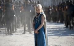 Above: Emilia Clarke as Daenerys Targaryen in 'Breaker of Chains' (Photo: HBO)