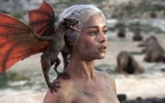 Above: GOT's Daenerys Targaryen