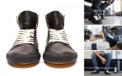Above: The Cutty Sark Prohibition Edition x Generic Surplus Hi-Top sneaker (Photos: Cutty Sark)