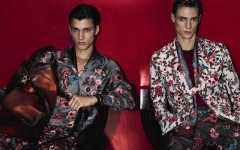 Above: Gucci's ad campaign for its men's spring/summer 2014 collection (Photo: Mert Alas & Marcus Piggott)