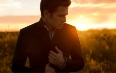 Hayden Christensen models his upcoming capsule collection for RW&CO.