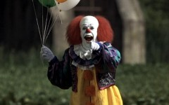 Above: Stephen King's IT (1990) is definitely worthy of a re-do