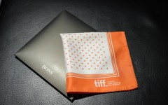Above: The Boss Pocket Square for TIFF's Pocket Fund