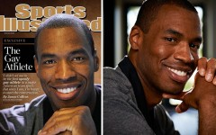 Jason Collins reveals he is gay in the May 6 issue of Sports Illustrated (Photos: Kwaku Alston/SI)