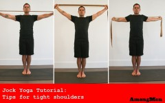 Learn how to relieve tight shoulder muscles (Photo credits: Glenn Gebhardt)