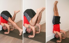 Learn how to go upside-down with our latest Jock Yoga Tutorial (Photo credits: Glenn Gebhardt)