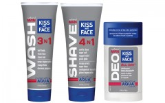 Above: Kiss My Face launches the first of their new men's collection