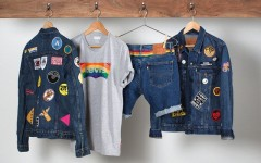 Above: Selections from Levi's Pride range (Photo: Levi's)