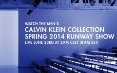 Watch the Calvin Klein Collection men's spring 2014 runway show
