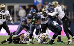 Above: New Orleans Saints v Seattle Seahawks at CenturyLink Field on December 2, 2013 in Seattle, Washington
