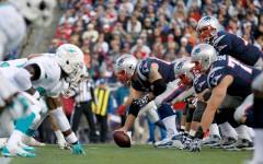 Above: Miami Dolphins v New England Patriots at Gillette Stadium on Sunday, October 27, 2013